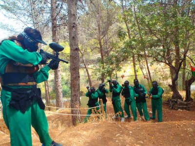 Paintball in Orba with 100 pellets