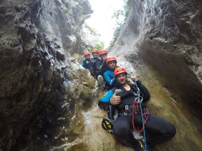 Initiation to Canyoning and Botifarra in Lleida
