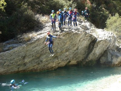 Canyoning in Vallegón or Navedo, Asturias