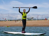 Stand up paddleboarding in Brighton