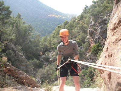 Abseiling lesson in Majorca, 1 entire journey
