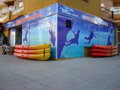 Special pack Kayaking +Snorkeling Penyal d'Ifac 2h