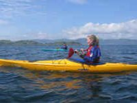 Open water paddle
