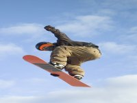 Snowboarding stunts