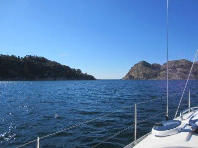 Sailboat trip across Ría de Vigo 4 hours