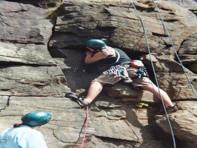 Stuart Igoe Climbing