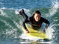 Surfing in Haverfordwest