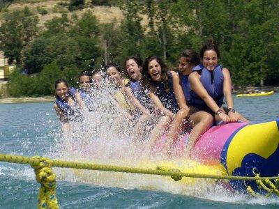15-Min Banana Boat or Glider in Barasona Lake