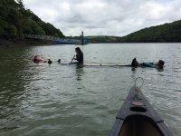 Canoe at Cornwall