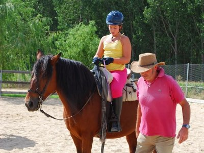 First Horse Riding experience in Huerta children