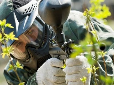 Paintball in Cantabria - Arroyo - 100 balls