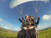 safe landing with Axis Paragliding and Paramotoring Paragliding