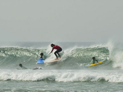 Surfing Lesson in Sanxenxo - 2h
