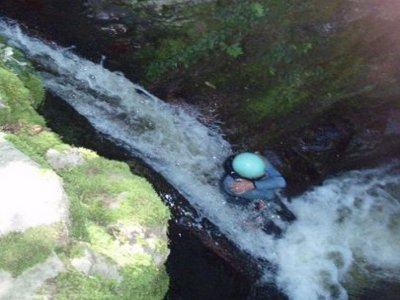 Family Canyoning in Valles Pasiegos