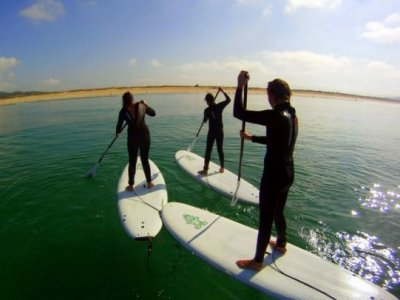 2-hour stand up paddle surfing Sanxenxo