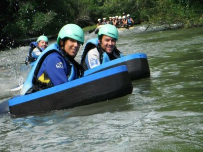 Riverboarding Alto Ebro Cantabria 9 km (5,5 m)