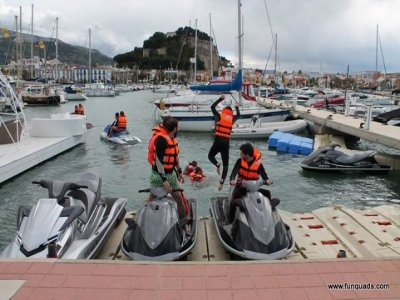 Quad Route + Jet ski + Kayaks or Paddle surf