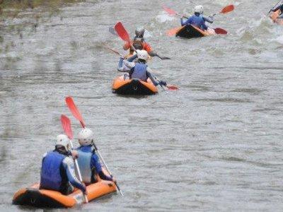 Family Canoe-Rafting in Alto Ebro - 5km (3m)