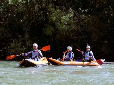 Canoerafting in Alto Ebro 5,5 m - 3h 30 min