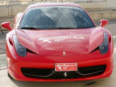 1 lap in Ferrari F430 at Montmeló National Circuit