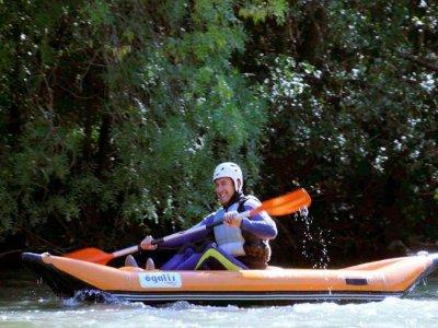 Canoerafting XL in Alto Ebro 8,5 m - 4 h