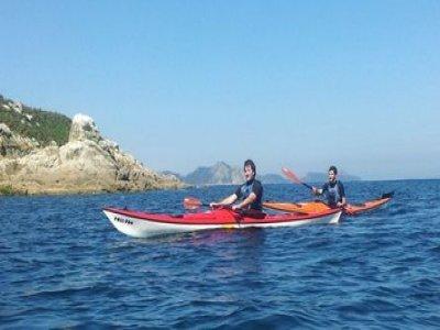 3 hour kayak route in Nigrán