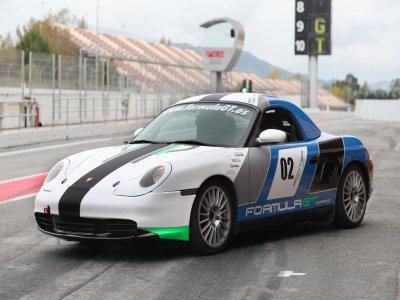 1 lap on Porsche Boxster Cup Montmeló Circuit