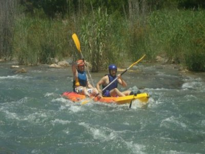 Kayaking descent + quad route for schools