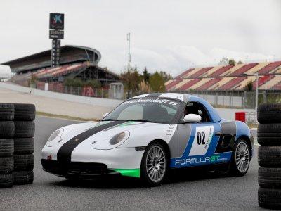 1 lap Porsche Boxster Cup, Can Padró circuit