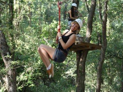 Adventure Park in Hornos de Moncalvillo