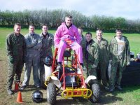 Stag do buggy session