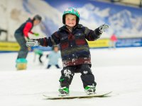 Lessons for Tots in Snowdome Snowboarding