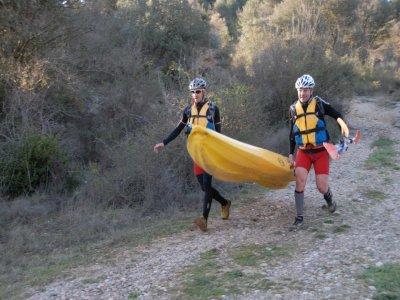 Kayaking in Barasona Reservoir - Half a day
