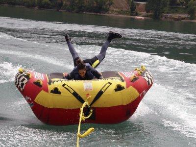 2:15h Pack: Canoe, Hydropedals & Banana, Barasona