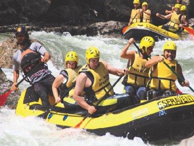 Aquatic Pack: Canyoning + Rafting, Esera River
