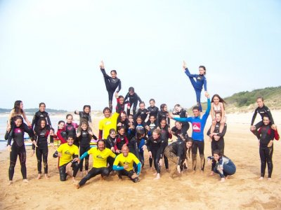 Surf camp + surfing course, Sumo, 5 days