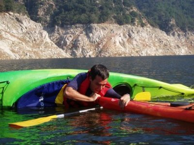 Kayaking in Sau Reservoir