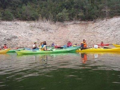 Kayak+hiking+segway in Sau reservoir