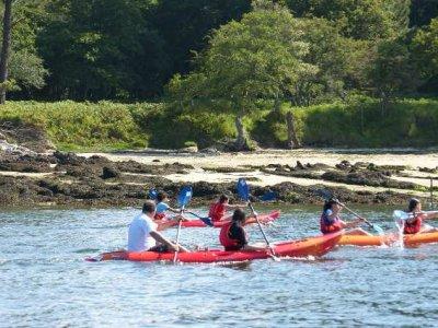 Kayaking down river Umia, Pontevedra - Half a day