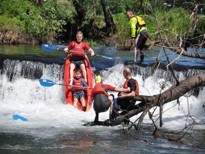 Kayaking Down River Umia, Pontevedra - Full day