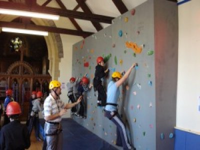 Grenville House Outdoor Education Centre Climbing