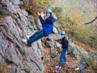 Challenging and exciting abseiling days