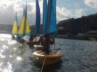 Sailing adventures in Devon