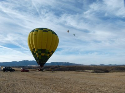 Balloon Flight in Segovia + Photos + Video +Brunch