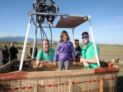 Balloon Flight Segovia Brunch + Photos+ Video Kids