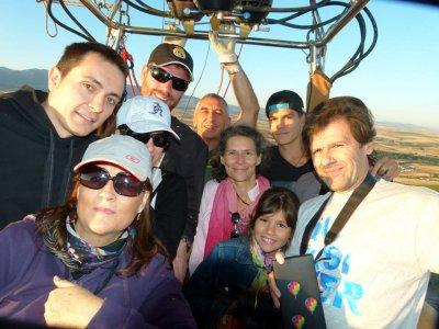Balloon Flight in Toledo + HD Video + Photos Kids