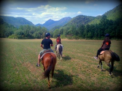 Horse ride through Font de Palau, 2 hours