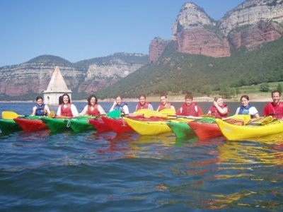 Kayaking for adults in Sau Reservoir