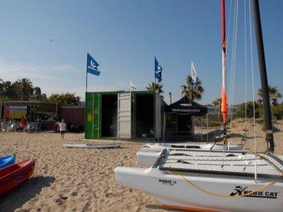 Sailing boat course in Gavà, 8 hours