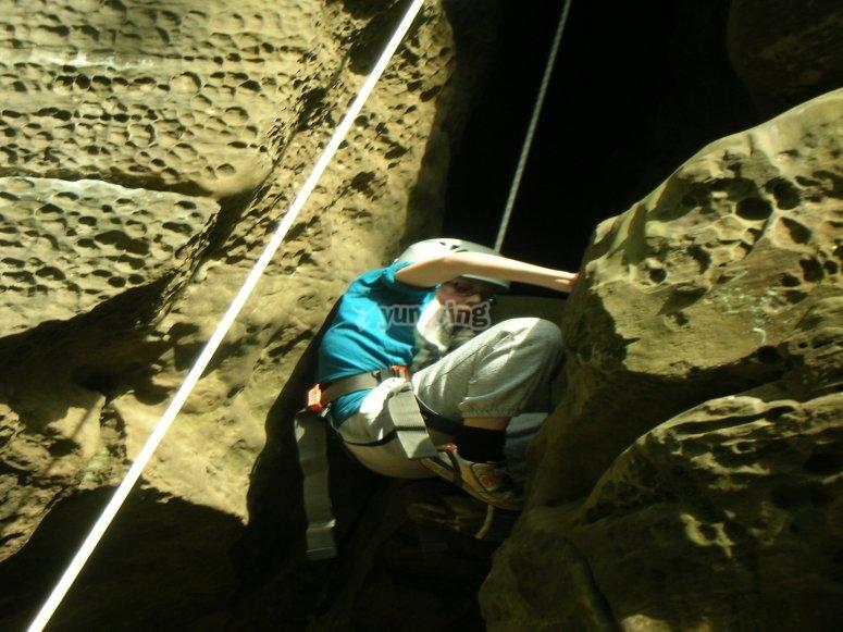 Climbing Sussex